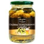 Огірки Helcom корнішони мариновані з медом 0,37л