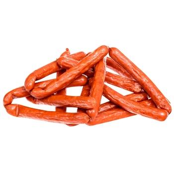 Колбаски БМК Егерские полукопченые первый сорт