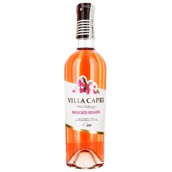 Villa Capri Moscato Rosato Wine 9-13% 0,75l