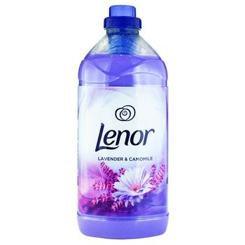 Кондиционер для белья Lenor лаванда и ромашка 1,8л