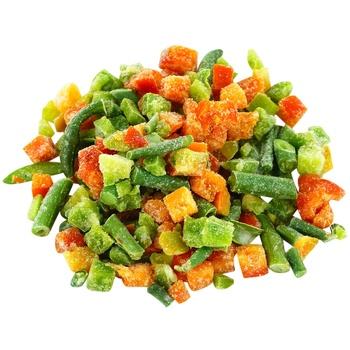 Суміш овочева Фуршет для омлету свіжоморожена вагова