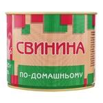 Pyatachok Piglet Home-style Canned Sterilized Pork with Food Additives 525g