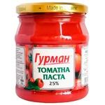Томатная паста Гурман 25% 485г