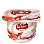 Йогурт Дольче полуниця двошаровий 3,2% 115г