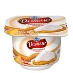 Йогурт Дольче персик-маракуйя двошаровий 3,2% 115г