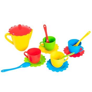 Набор игровой Tigres Ромашка посуда на 4 персоны - купить, цены на ЕКО Маркет - фото 1