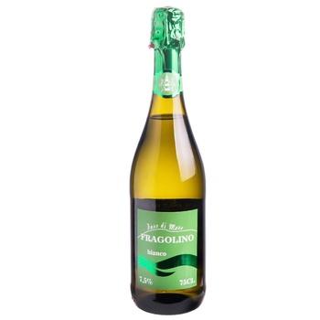 Вино игристое Faro di Mare Fragolino Bianco белое сладкое со вкусом клубники 7,5% 0,75л - купить, цены на СитиМаркет - фото 1