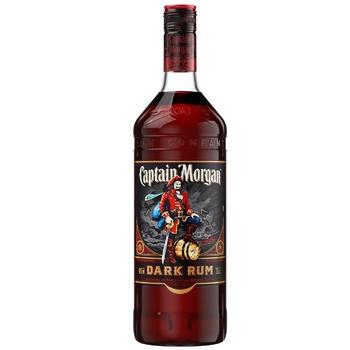 Ром Captain Morgan Dark 40% 1л