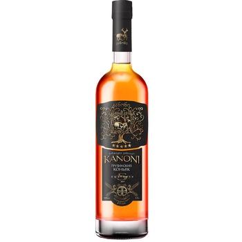 Kanoni 5 Yrs Cognac 40% 0.5l - buy, prices for EKO Market - photo 1