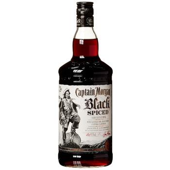 Ромовый напиток Captain Morgan Black Spiced 40% 1л