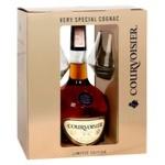 Courvoisier VS Cognac with 2 Glasses 40% 0,7l