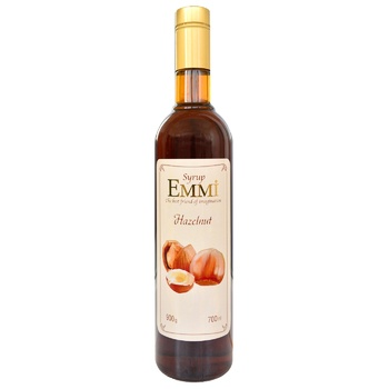 Сироп Эмми Лесной орех 700мл