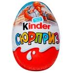Яйце шоколадне Kinder Surprise 20г - купити, ціни на Фуршет - фото 1