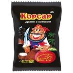 Драже Skava Корсар кокосовое в шоколаде 60г