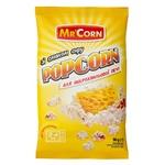 Попкорн Mr'Corn зі смаком сиру  для мікрохвильовки 90г