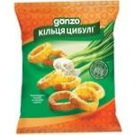 Gonzo Corn Rings with Onion Flavor 35g