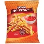Соломка фрі Gonzo кукурудзяна зі смаком кетчупу 35г