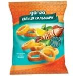 Кольца кукурузные Gonzo со вкусом кальмара 35г