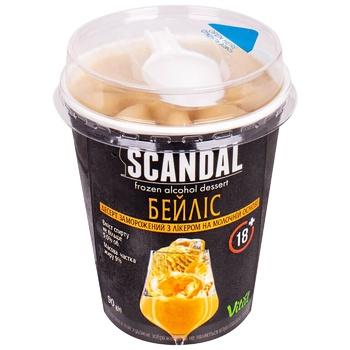 Десерт Scandal Бейліз з лікер.на мол.осн.замор.90г - купити, ціни на CітіМаркет - фото 1