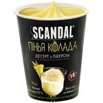 Десерт Scandal Пинья Колада с ликером на молочной основе замороженный 90г