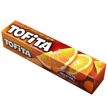 Конфеты жевательные Tofita Апельсин 47г