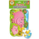 Vladi Toys Pig and Piglet Magnetic Puzzle