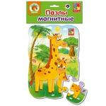 Пазл Vladi Toys Жирафики магнітний