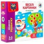 Игра настольная Vladi Toys Веселые картинки укр