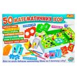 Игра настольная Ranok-Creative 50 Математических игр