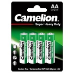 Camelion Green Series Zinc-Carbon Batteries AA 4pcs