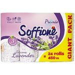 Soffione Toscana Three-layer Toilet Paper with Lavender Aroma 24pcs