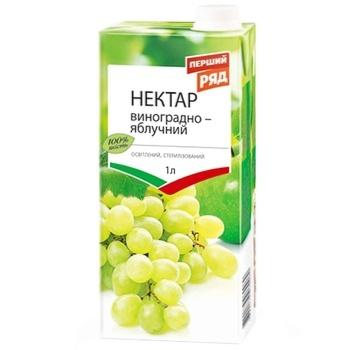 Pershyj Ryad Apple-grape Nectar 1l - buy, prices for EKO Market - photo 1
