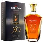 Бренді Koblevo Reserve XO 10 років 40% 0,5л