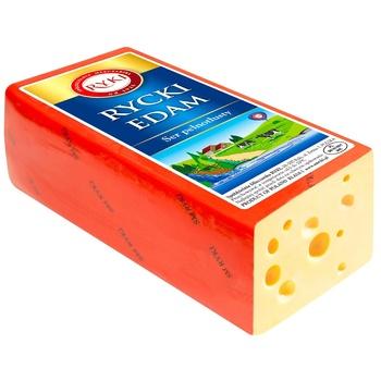 Сыр Ryki Эдам твердый 45% - купить, цены на СитиМаркет - фото 1