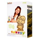 Levenya Toy Coloring Game Bunny with Paints 13869