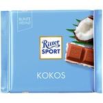 Ritter sport coconut-cream milk chocolate 100g