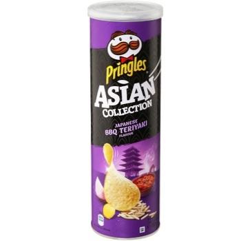 Чіпси Pringles рисові BBQ теріякі 160г