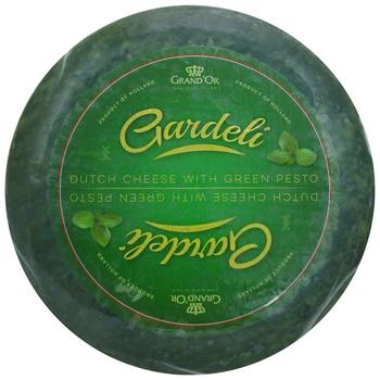 Сыр Gardeli Песто зеленый твердый 50%