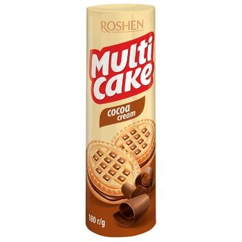 Roshen Multi-Cake Milk Cookies - buy, prices for EKO Market - photo 1