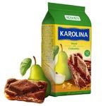 Печенье Roshen Karolina сдобное с грушей и карамелью 225г