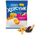 Крекер Roshen Хрустик с маком 180г