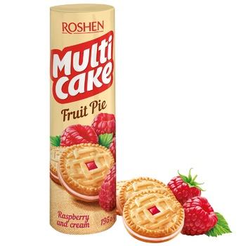 Печиво Roshen Multi Cake малина-крем 195г - купити, ціни на ЕКО Маркет - фото 1
