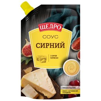 Соус Щедро Сырный 200г