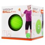 Медбол LiveUp Soft Weight Ball LS3003-2 м'який зелений 2кг