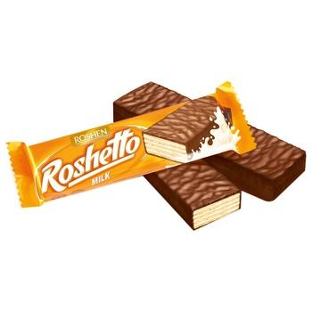 Roshen Roshetto Milk Candy Bar