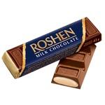 Батончик Roshen шоколадный с начинкой крем-брюле 43г фольга Украина