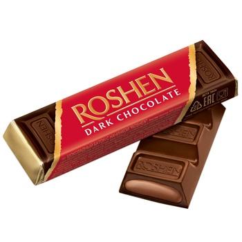 Батончик Roshen шоколадный с помадно-шоколадной начинкой 43г - купить, цены на Восторг - фото 2