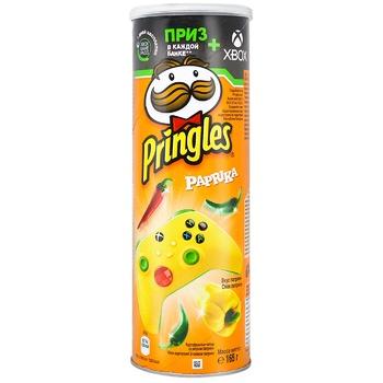 Чіпси Pringles картопляні зі смаком паприки 165г - купити, ціни на Ашан - фото 2