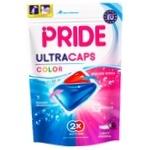 Средство для стирки Pride Color гелевые для цветного белья капсулы 14шт 322г