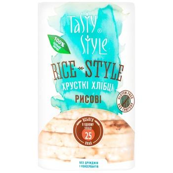 Хлібці Tasty Style рисові 95г - купити, ціни на Ашан - фото 1